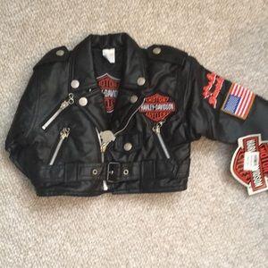 NWT 18mo Harley Davidson Moto jacket